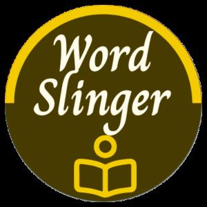 Word Slinger Rank Badge